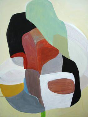 """Daboo #2,"" original abstract painting by artist Wayne Mok (UK) available at Saatchi Art #SaatchiArt."