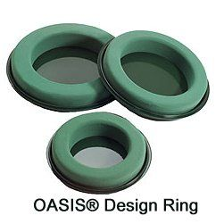 Oasis Design Ring.   Perfect for Hurricane Centerpieces