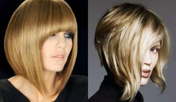 Tunsori Bob Carre Lung Par Blond стрижка боб Bob Hair и Face