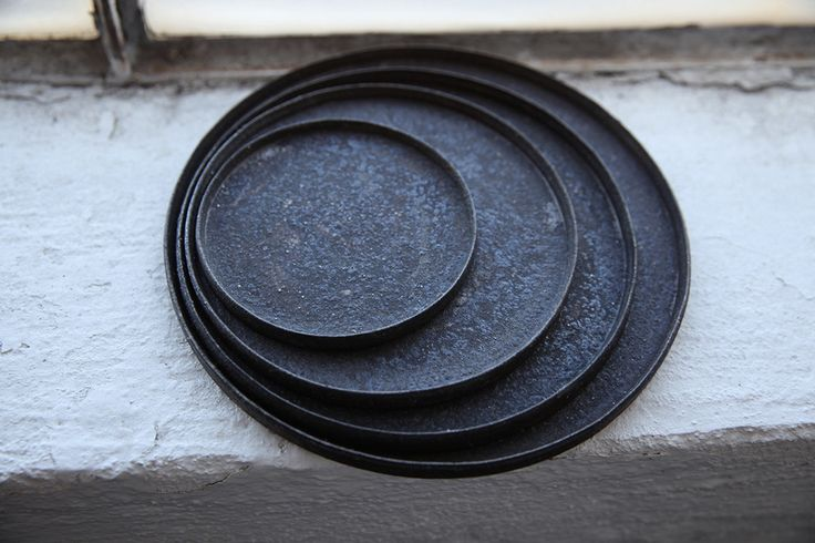 Plates by Takashi Endo | cendre