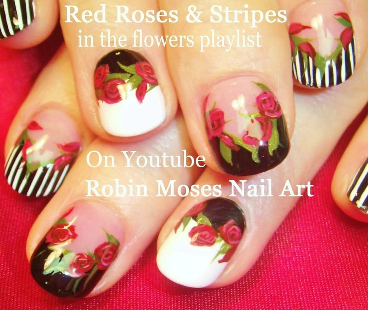 328 best flowers nail art pictures with tutorials images on de2905f092d9971467ee25b133676c66 design nail art diy nail designsg prinsesfo Gallery