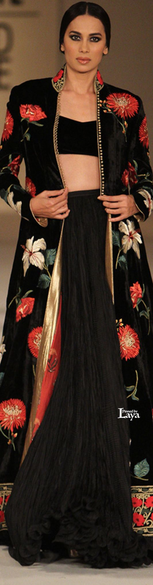 Rohit Bal at Lakmé Fashion Week summer/resort 2016