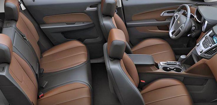 2016 Chevrolet Equinox Fuel Efficient SUV interior room ...