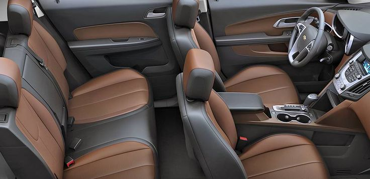 2016 Chevrolet Equinox Fuel Efficient SUV interior room. www.chevroletofsantafe.com