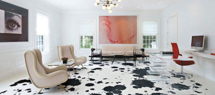 Inspired By: Painted Wood Floors