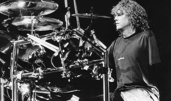 The drummer from Def Leppard, Rick Allen
