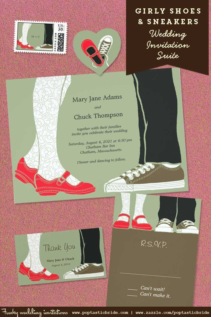 104 best Poptastic Bride Invitations images on Pinterest | Invites ...