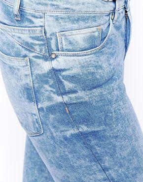 Увеличить Мраморные джинсы New Look Sky Authentic