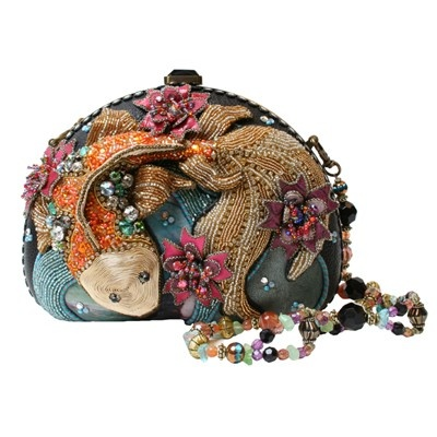 Koi Pond purse....a beaded work of art
