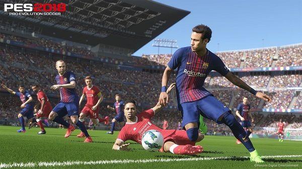 Demo de PES 2018, en PS4 y Xbox One