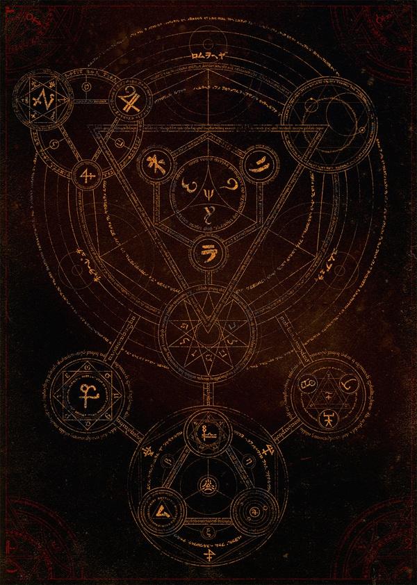 Magic Circle by Alex Sidorenko, via Behance #occult #symbolism