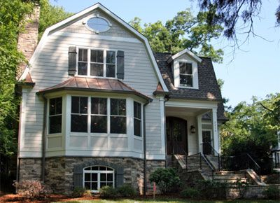Dutch colonial split level home the type i 39 d like to for Types of split level homes
