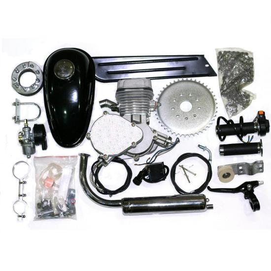 Flaming Horse Silver Slant 80cc Bicycle Engine Kit