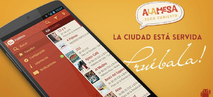 AlaMesa, aplicación cubana de restaurantes - http://www.absolut-cuba.com/alamesa-aplicacion-cubana-de-restaurantes/