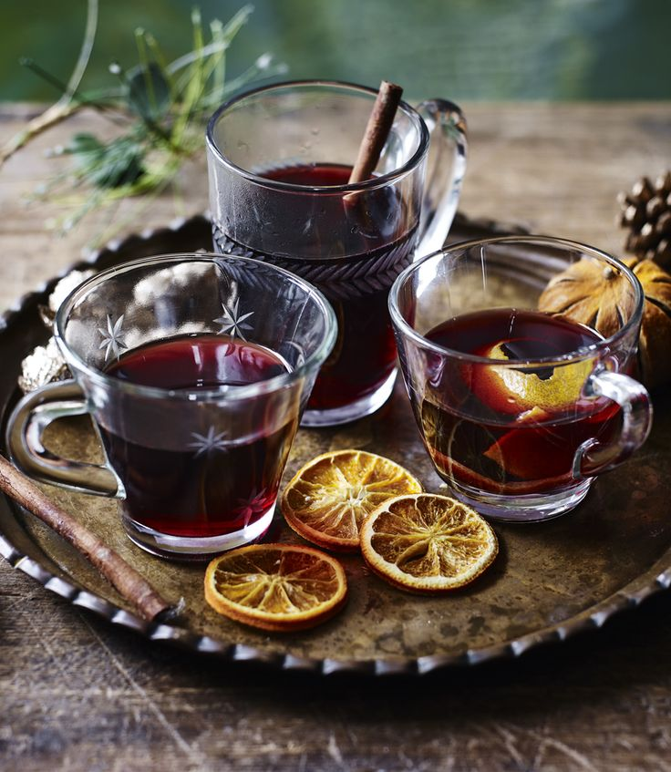 Warm up in the winter with Mary Berry's mulled wine. Maybe a mince pie, too.