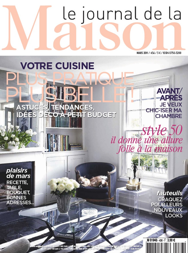 Le journal de la maison mars 2011 n 436 le plein d 39 id es for Magazine le journal de la maison