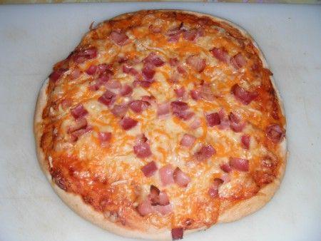 Masa de pizza super esponjosa/estilo Pizza Hut)