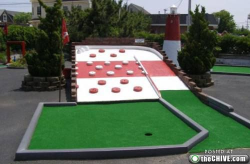 homemade mini golf ideas | mini golf 7 Miniature golf courses remind me of my childhood dominance ...