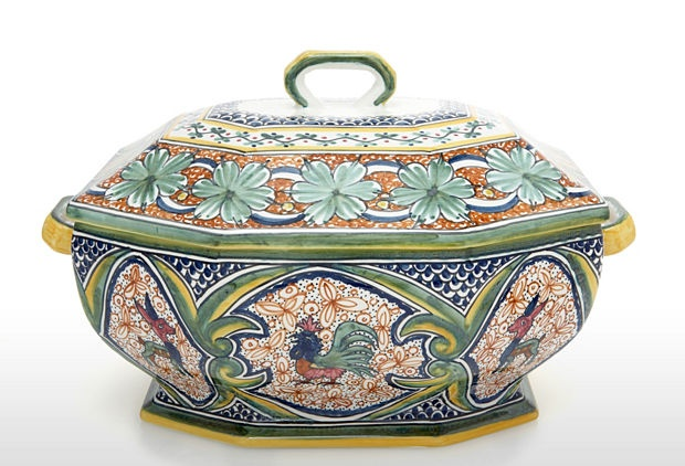 Alhambra terracotta tureen. Lovely!