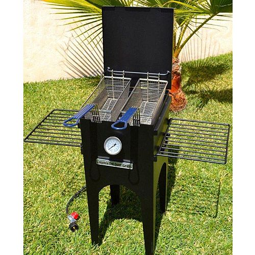 laguna outdoor grills fantastic fish fryer cooking
