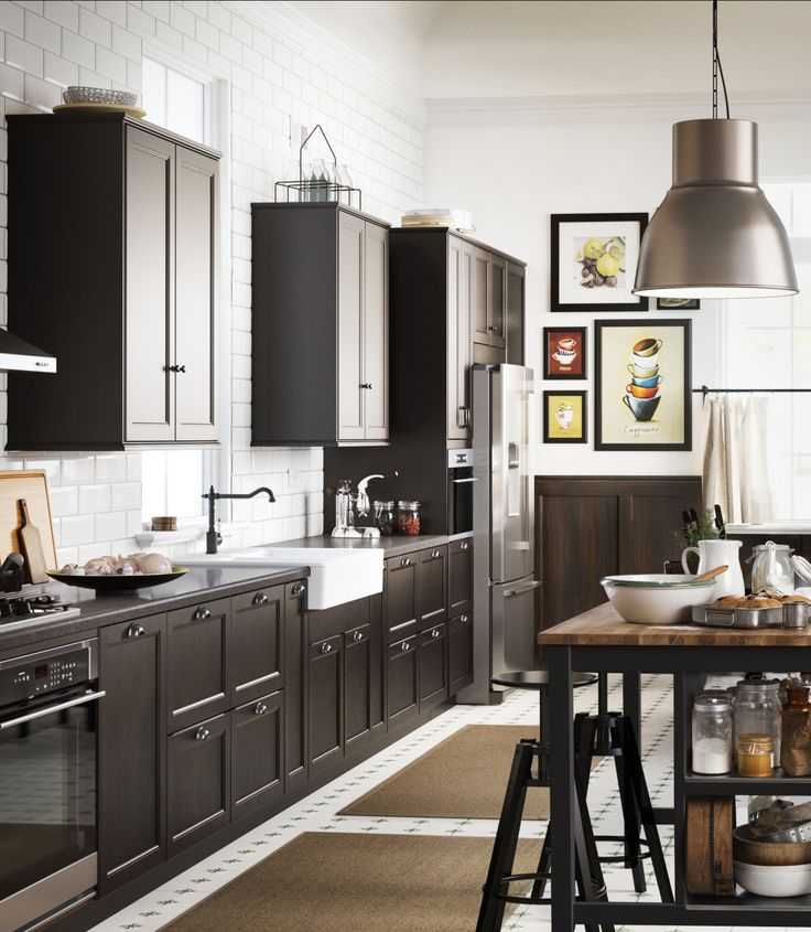Sleek Kitchen Design: From A Farmhouse Feel To A Sleek And Modern Look, IKEA