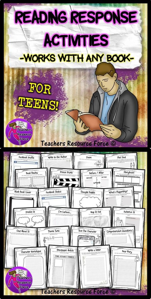 This reading response activities resource will encourage your students to review and reflect on their reading material in imaginative and creative ways, and these work with any book!   They are self explanatory for students to complete meaning no preparation needed from you! Students could select their own tasks or they can be chosen for them as a class activity. These would also make great homework tasks too if you're ever stuck for ideas!