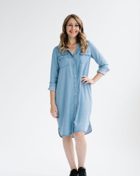 Weekend Shirt Dress - Blossom & Glow