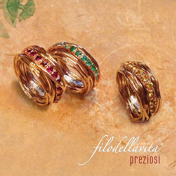 FilodellaVita Rubini, Smeraldi , Diamanti brown