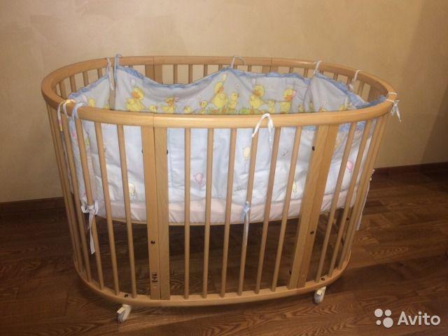 Продается детская кроватка Stokke Sleepi Bed, цвет белый. Состояние - отличное.- Современная и стильная кровать для детей от рождения до 3-4 х лет;- минималистичный дизайн, лёгкая и маневренная конструкция- материал: экологически чистая древесина бука;-...