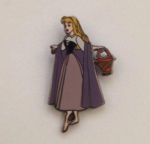 Very RARE Princess Aurora from Sleeping Beauty in Peasant Clothes Disney Pin   eBay
