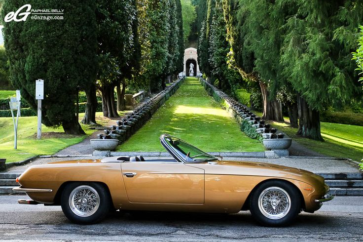 first Lamborghini production model in 1964 (the 350 GT),