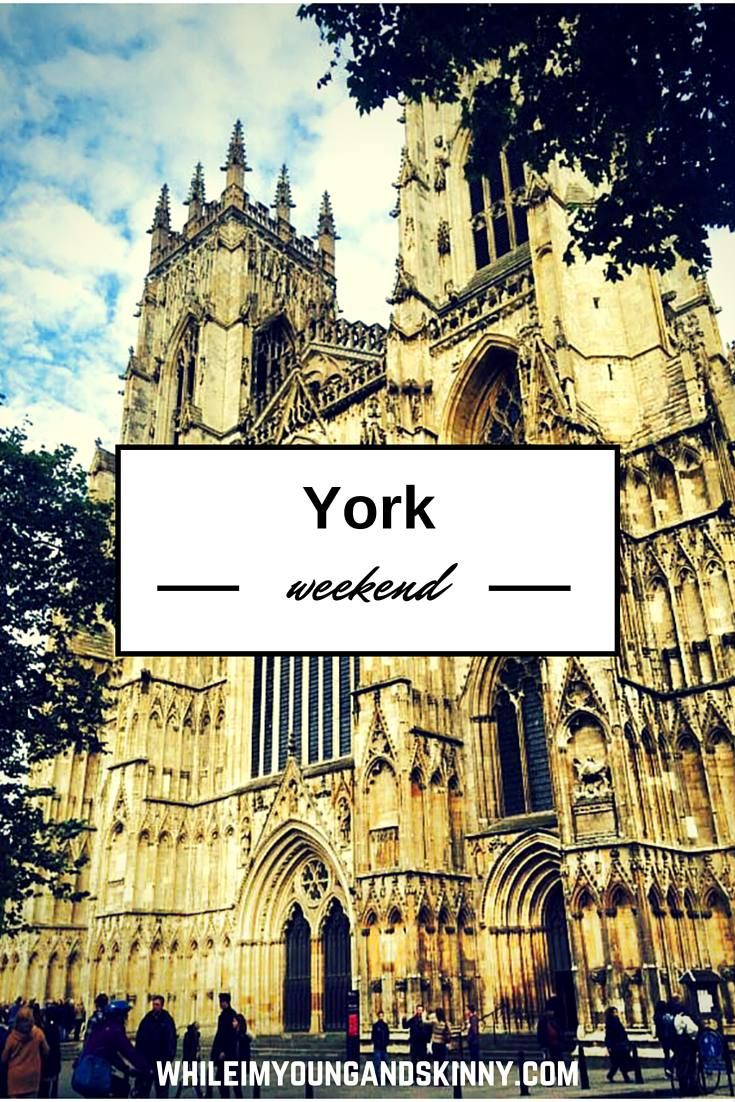 Where to eat, drink, shop in the historic English city York. The perfect destination for a weekend break in the UK. Have you spent a weekend in York? Uk travel | York England | Britain | Cathedrals | Harry Potter