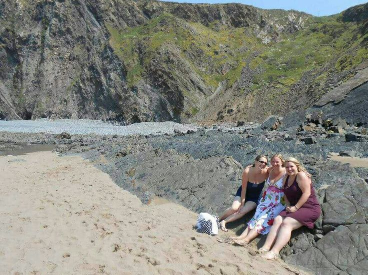 Hartland Quay with the besties 2014