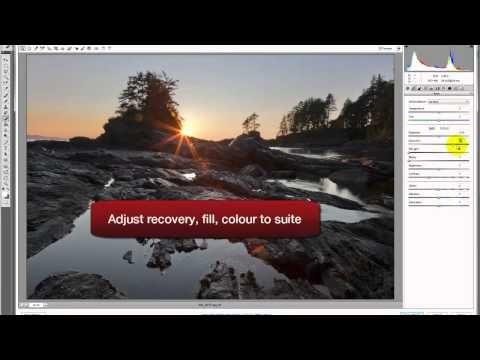 How to enhance landscape photos - Photoshop Tutorial