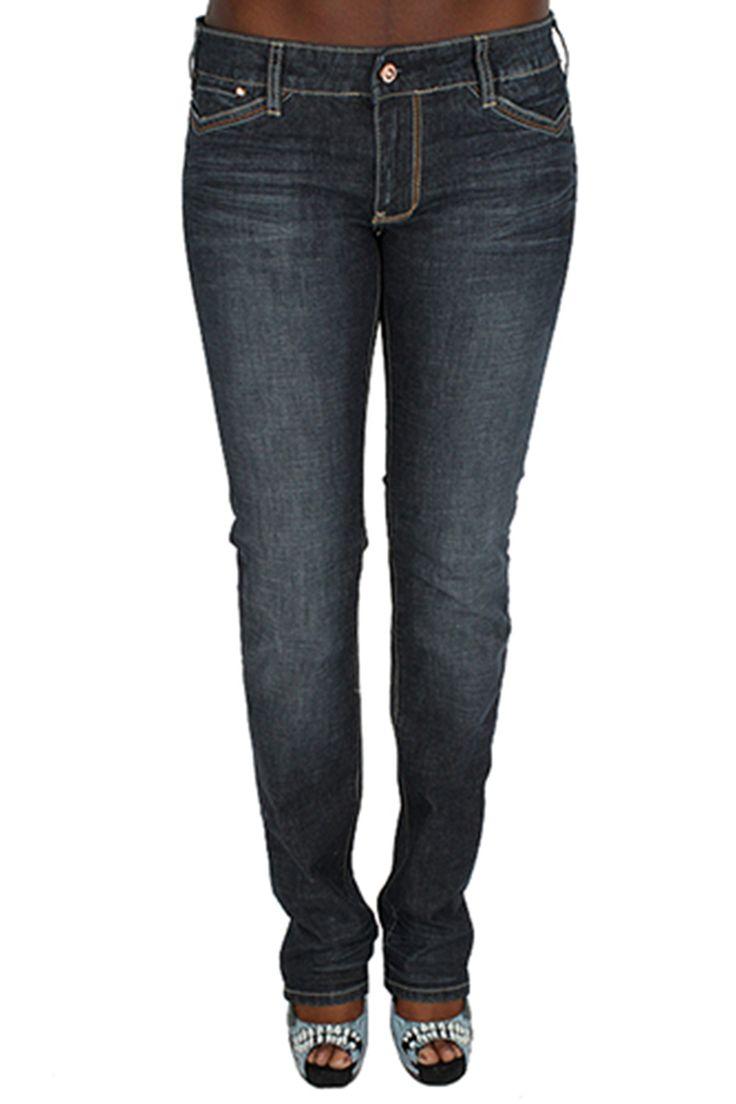 Parasuco 8031PRJ Extra Low Rise Slim Fit Blue Narrow Leg Ladies Jeans