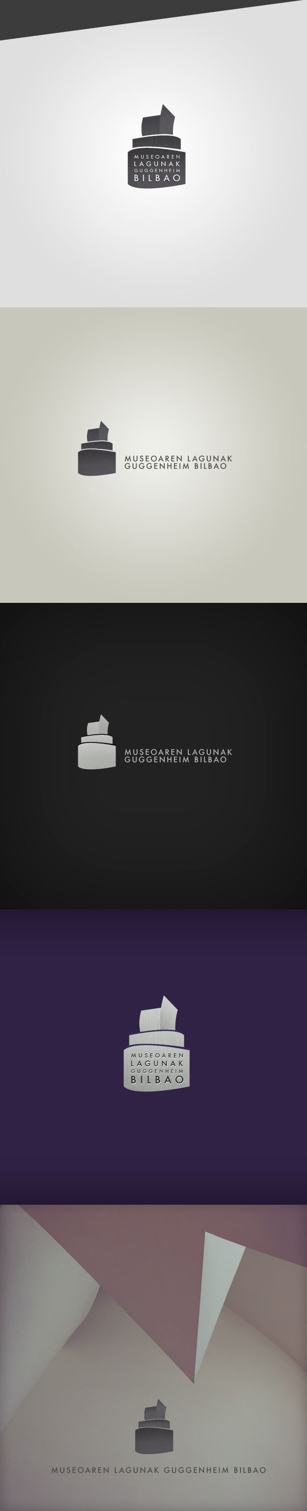 Friends of the Museum Guggenheim Bilbao - Identity by Federico Cerdà, via Behance