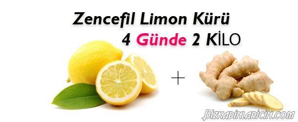 Zencefil Ve Limon Detoks Kürü İle 4 Günde 2 Kilo - http://www.bizkadinlaricin.com/zencefil-ve-limon-detoks-kuru-ile-4-gunde-2-kilo.html  Kolay bir şekilde forma girmek isteyenler dikkat! zencefil ve limon detoks kürü ile 4 günde 2 kilo verebilirsiniz.Zencefil kilo kaybı için mükemmel bir iştah kesicidir, tüm vücudu toksinlerden arındırıp detoks etkisi sağlar ve sağlıklı bir şekilde fazlalıklarınızdan kurtulmanıza yardımcı olur. Malzemeler 4 Lim
