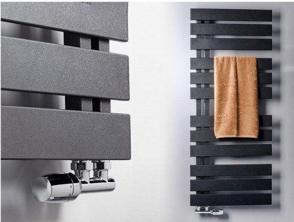 W łazienkach mamy wstępnie u developera wybrane kaloryfery Nameless firmy Instal projekt, grafitowe. Wymiat 6x120  - są przewymiarowane bo będą podłączone pod zasilanie podłogówki i pompę ciepła.