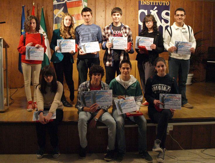 Entrega de premios del I Concurso de Relato Corto Ilustrado IES Cástulo 2012.