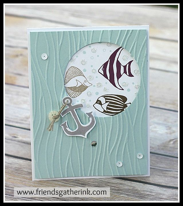 Seaside Shore stamp set by Stampin' Up!