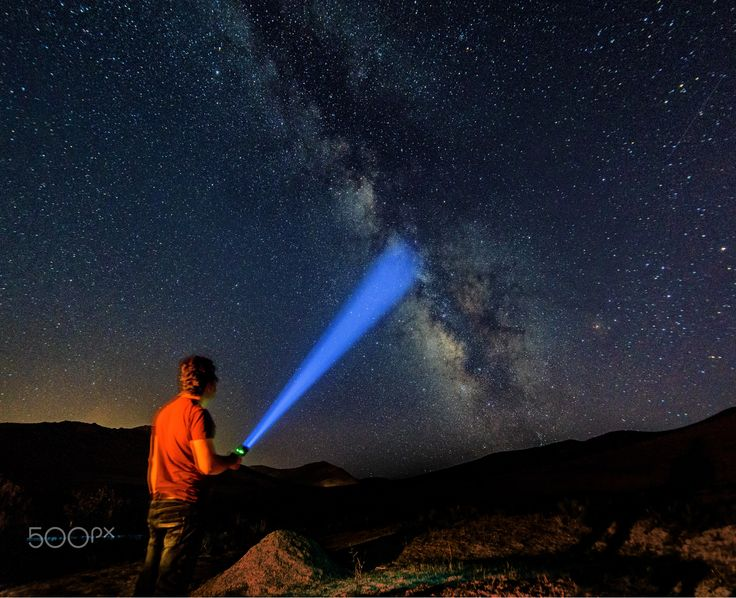 Milky way in Kurdistan - The good thing about the sky is that, it is belong to everyone!