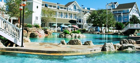 Walt Disney World Beach Club Pool