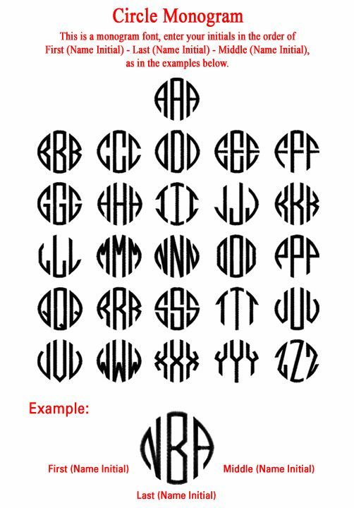 free monogram font downloads