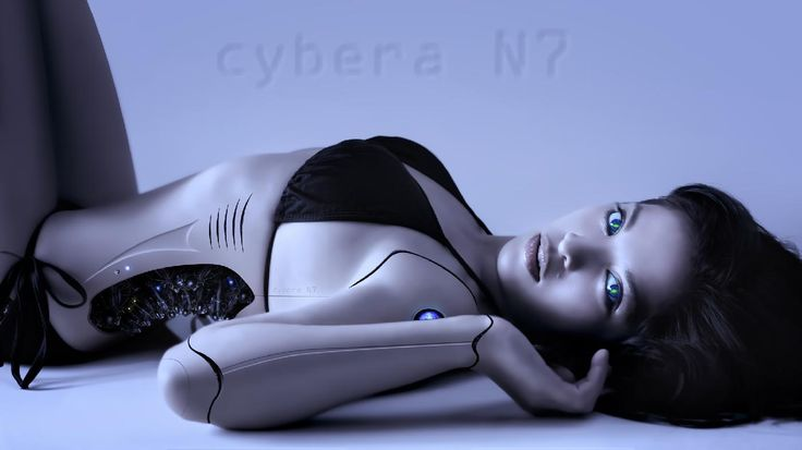 Cyber N7 - one of my cyborg girl photoshop manipulation. From a shoot with model Jamosa. You can watch how this image was created on my Youtube channel, <a >here</a>.