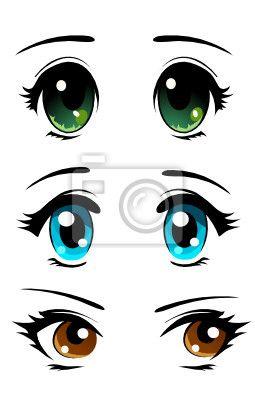 manga ojos grandes - Buscar con Google
