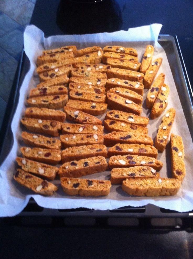 Biscotti, sprøde julesmåkager, Italien,Jul, Lækkeri, , opskrift