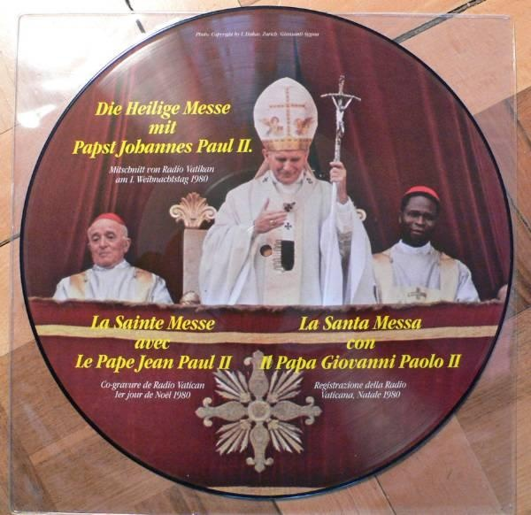 Album Cover: Papst Johannes Paul II.* - Die Heilige Messe Mit Papst Johannes Paul II.