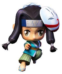 Pockie Ninja Game- A Showdown between anime characters.