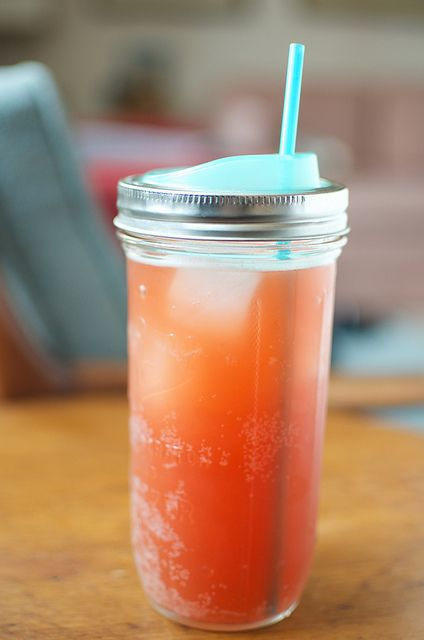 Cuppow on a pint & a half jar | Flickr - Photo Sharing!