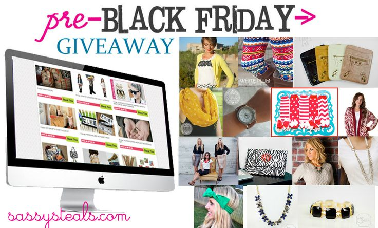 Sassy Steals Giveaway with great goodies!